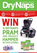 WIN a DryNaps Pram, Car seat and baby Product hamper!